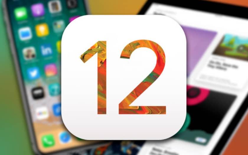 Résumé des nouveautés iOS 12