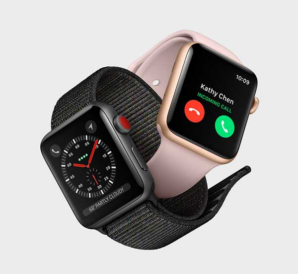 Faire du sport Apple Watch